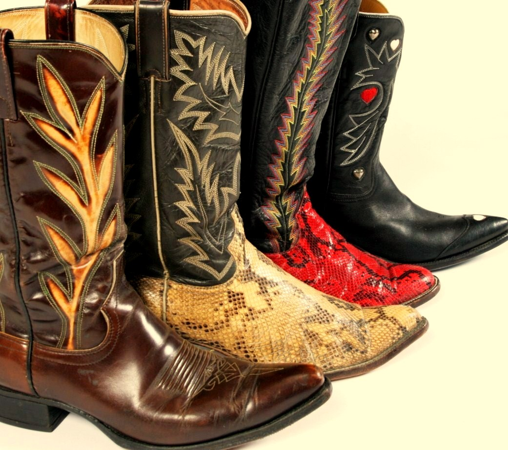 Unique Vintage Wholesale -Cowboy Boots - Vintage Shops