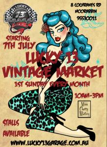 Lucky 13 Garage @ Lucky 13 Garage | Moorabbin | Victoria | Australia