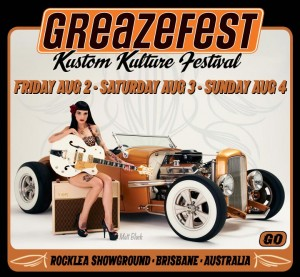 GREAZEFEST KUSTOM KULTURE FESTIVAL  @ Rocklea Showgrounds | Rocklea | Queensland | Australia