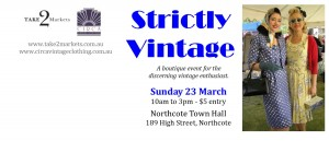 Strickly Vintage  @ Northcote Town Hall