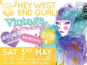 Vintage & Designer Markets @ The Rumpus Room | West End | Queensland | Australia