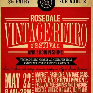 Rosedale Retro Vintage Festival @ Rosedale Victoria    Rosedale   Victoria   Australia