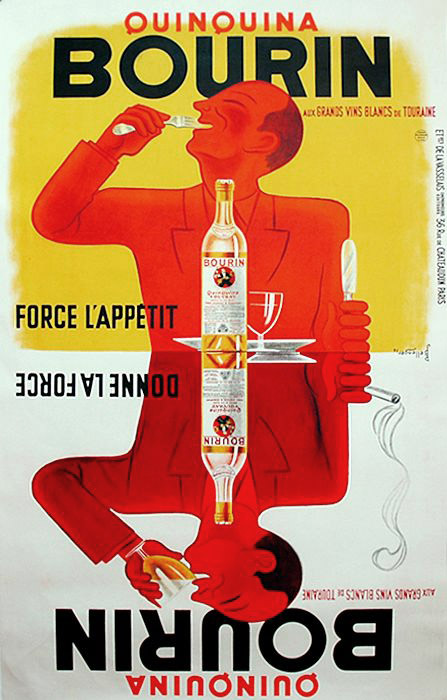 BOURIN Great Art Deco poster from 1936 - Studio M