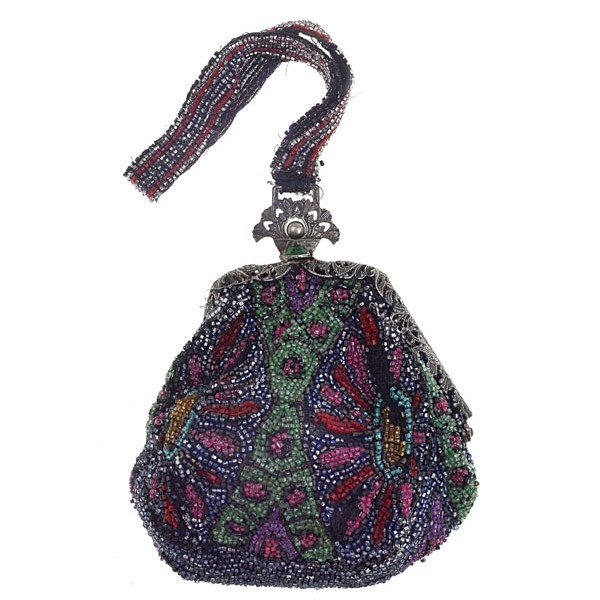 Art Deco Beaded Purse - Deco Darling Jewellery