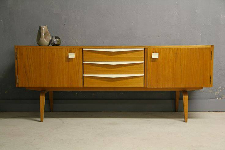 Hellerau Sideboard - 1960's East Germany