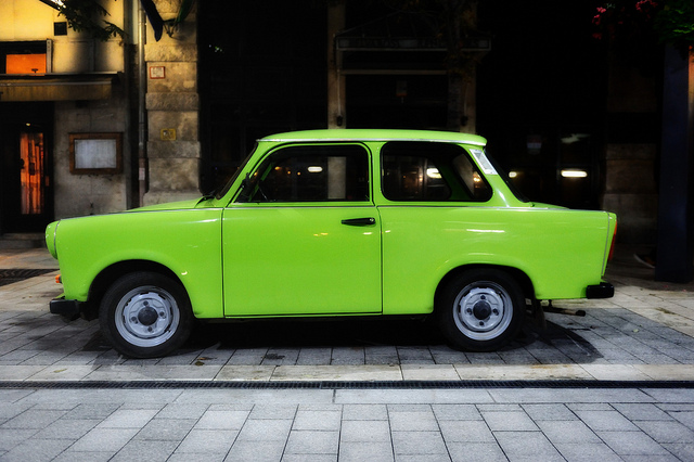 DDR Icon Green Trabant