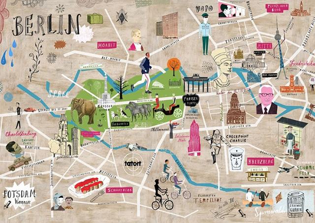 Martin-Haake-Berlin-Map