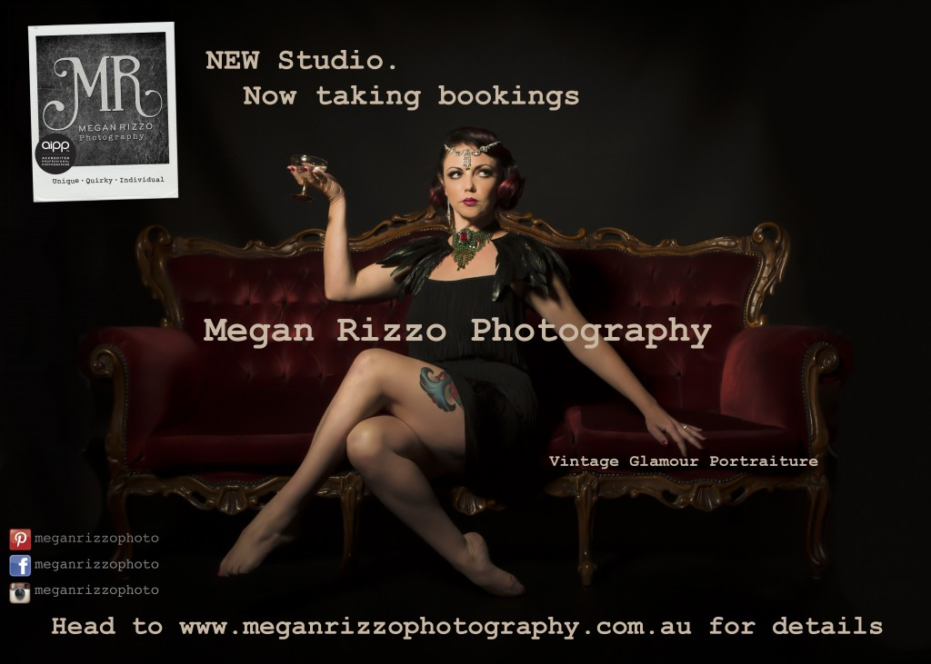 Megan Rizzo Photography - Vintage Glamour Photography