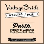 Vintage Bride Wedding Fair Perth