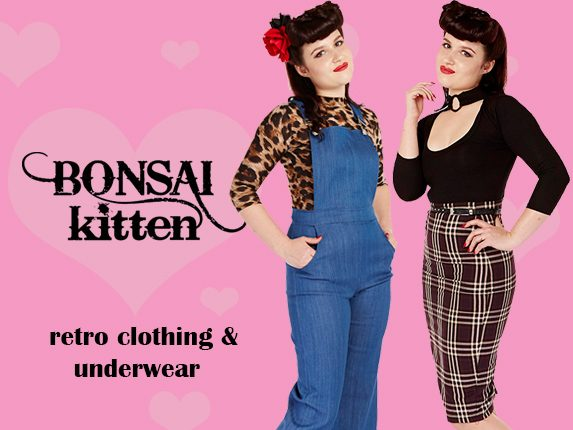 Bonsai Kitten Retro & Pin up Inspired Clothing