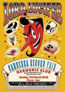 Canberra Records & Music Fair @ HARMONIE GERMAN CLUB  | Narrabundah | Australian Capital Territory | Australia