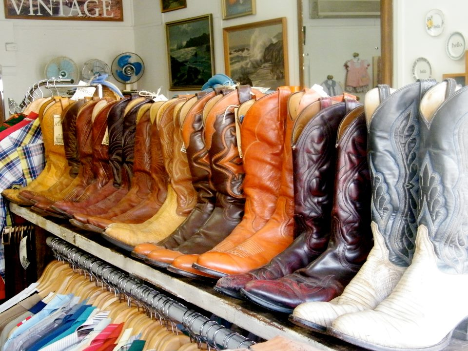 western boots vintage