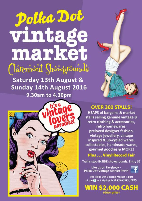 Polka Dot Vintage Market Perth