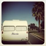 flossie the vintage caravan