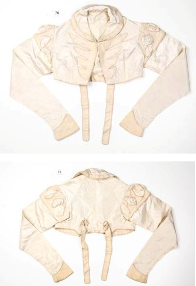 Photos of early 19th cen little jacket I talk about buying in Australia in the text of the interview