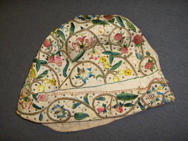 needlework cap