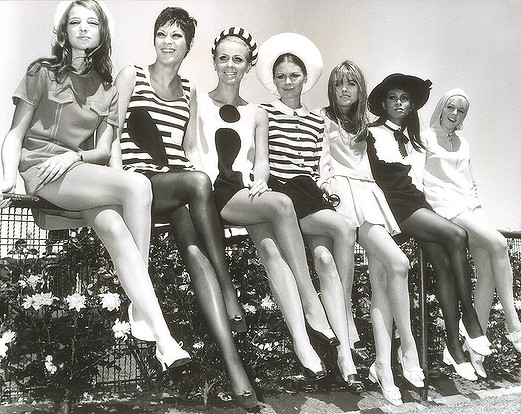 Fashions on the Field during the 1967 spring racing carnival.