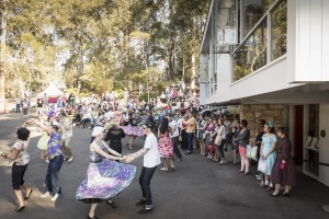 Couples dancing at Fifties Fair, Rose Seidler House
