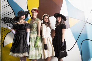 SYdney Living Museums Fifties Fair at Rose Seidler House - fashion parade