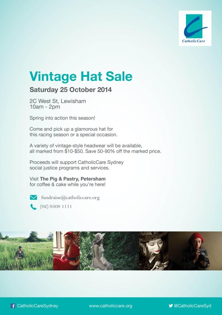 Vintage Hat Flyer 2014 A4 - Print (3)