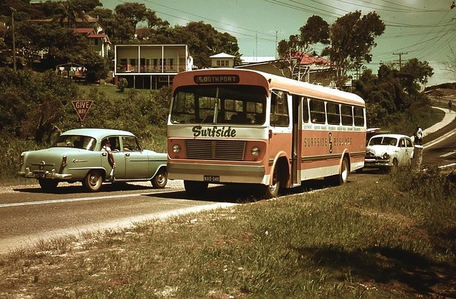Surfers Paradise 1970's Image by Alistair Paterson