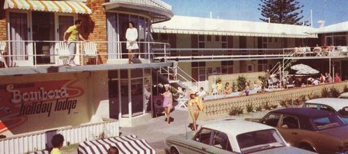 Bombora Holiday Lodge at Coolangatta Gold Coast in 1970