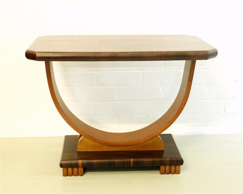 An Australian Art Deco Occasional Table - Polish