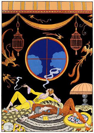 La Paresse reprint 1925 - Art Deco Poster SHOP Vintage Venus