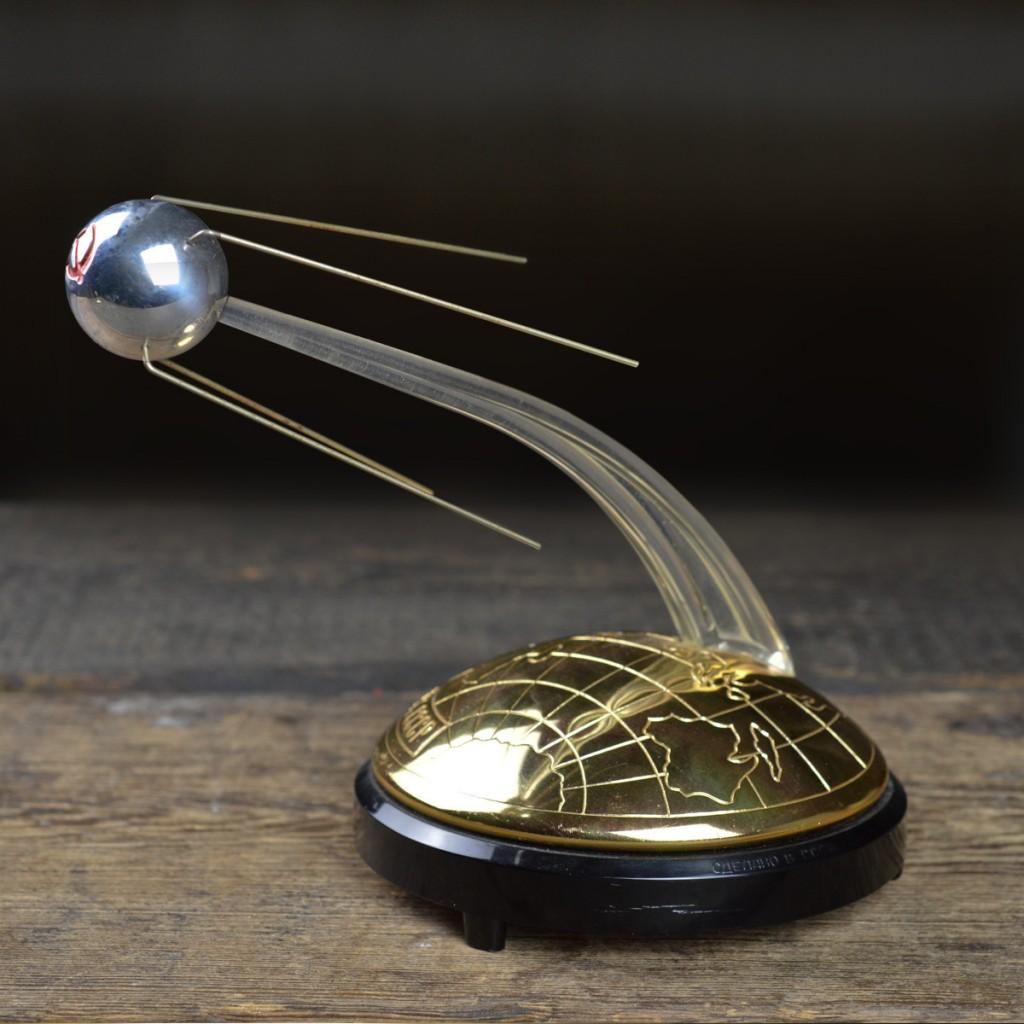 1950's 'Sputnik' Music Box - ostblock - mid century