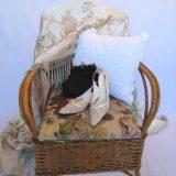 vintage cane chair Louisa Amelia Jane