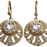 Art-Deco-earrings Alouette Bijoux