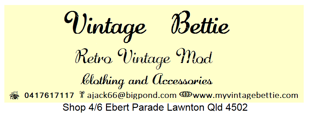 Vintage Bettie - Vintage Clothing